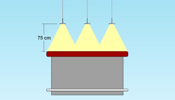 Iluminar cocina comedor
